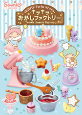 Little Twin Stars Kira Kira Sweets Factory Re-ment Miniatures (SOLD OUT)