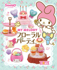 LAST SET My Melody Floral Party Re-ment Collection (SOLD OUT)