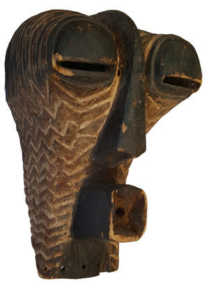 African Songye Tribal Mask