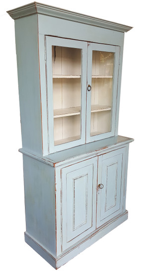Antique Hutch in Pale Blue