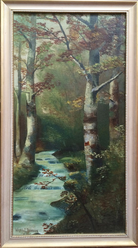 Autumn Trees Oil on Canvas