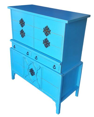 Vintage Modern Tallboy Dresser