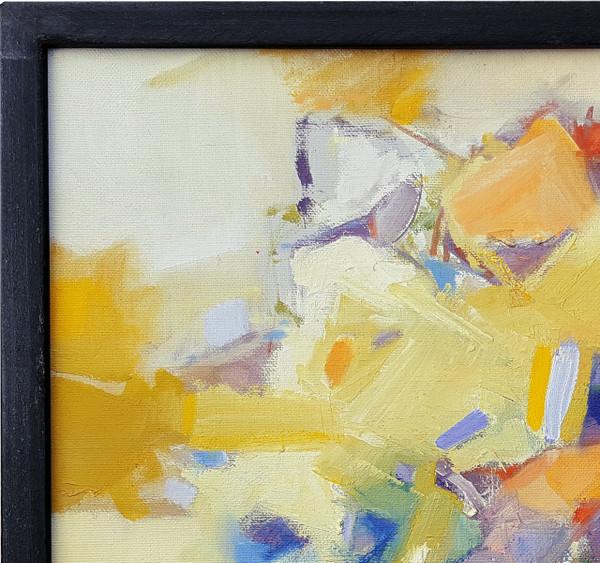 Abtract OIl on Canvas - Anita Simpson 16x18