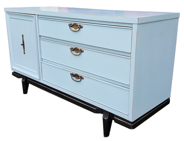 Modern Dresser in Pale Blue