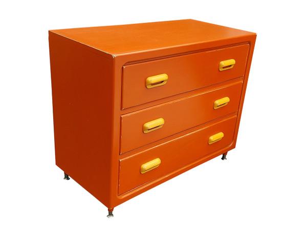 Retro Modern dresser 3/4 view