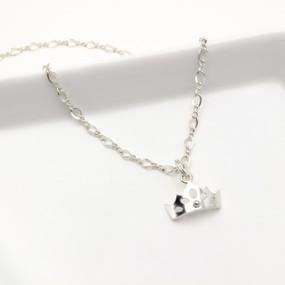 Princess Crown Adjustable Necklace