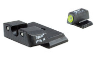 Trijicon, HD Tritium Night Sight, Fits S&W M&P Shield, Yellow Outline