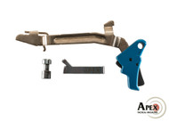 Apex Action Enhancement Kit for Glock Pistols Blue trigger housing