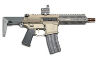"Q HONEY BADGER 300BLK 7"" 30RD FDE"