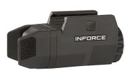 INFORCE, APL-Compact Weapon Mounted Light, Fits Picatinny, Ambidextrous On/Off Switches Enable Left or Right Hand Activation, Constant and Momentary Operating Modes, White LED: 200 Lumens, Black