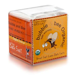 Organic Orange Bath Salt