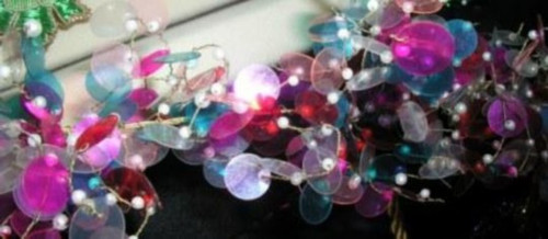 Garland Shimmy Multicolored GD42M