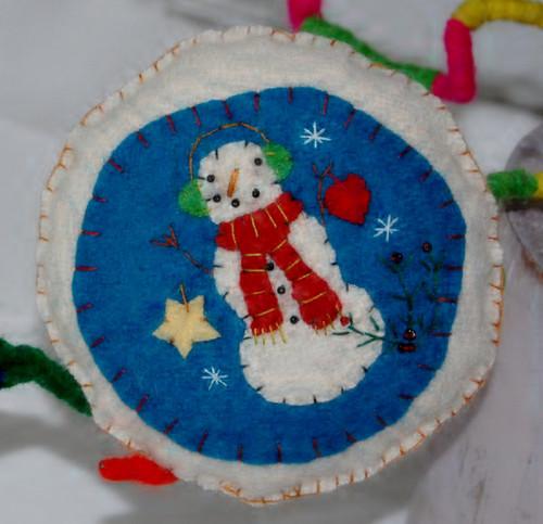 BF13 - Snowman Pillow