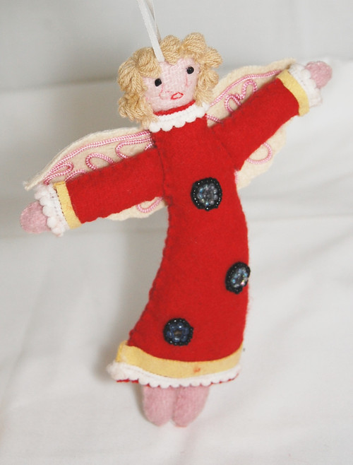RIT519 -Felt Angel 6""