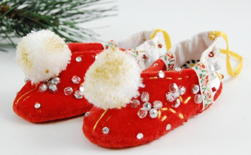 Wool Shoes Christmas Ornament