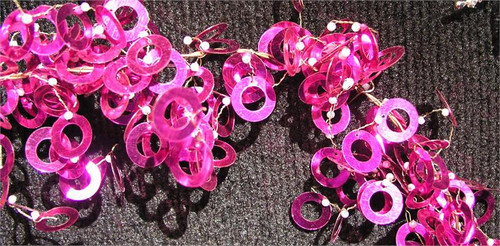 Garland Shimmy Fuschia GD43F