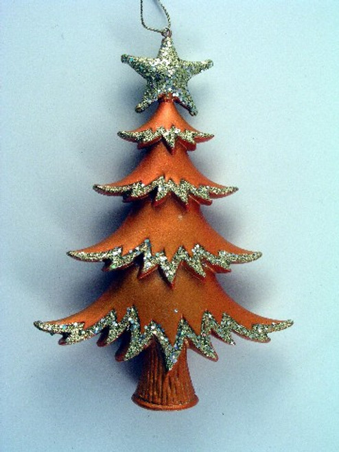 Tree with star Orange gold BD2002