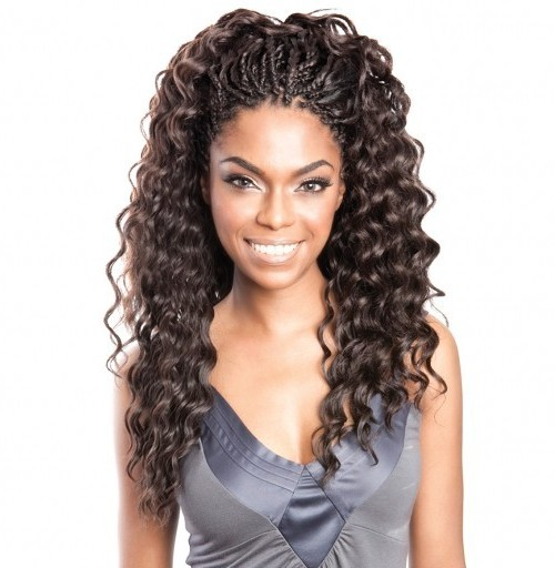 Crochet Hair Deep Wave : ... Braid Caribbean Bundle Braids Isis Aruba Soft Deep Hair Extensions