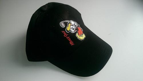 Mickey Mouse Kids Golf Cap Black