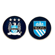 Manchester City Official Metal Golf Ball Marker