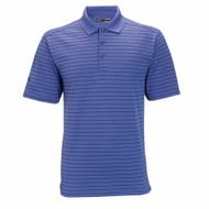 Callaway Mens Chev Stripe Golf Polo in Ultra Marine Blue Medium