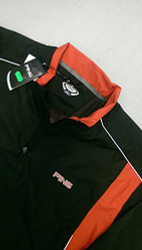 Ping Mens Tornado Waterproof Golf Jacket Black Red XXL