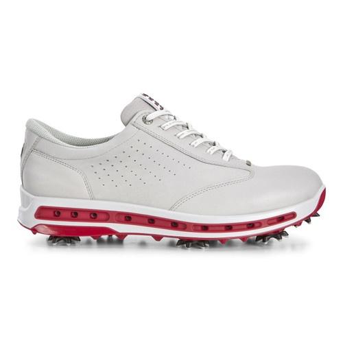 Ecco Mens Golf Cool Goretex Shoes Concrete