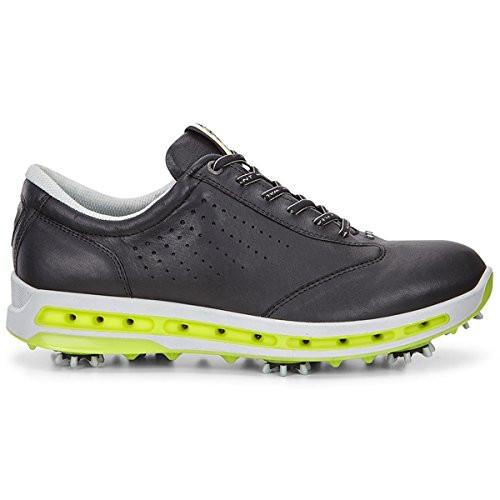 Ecco Mens Golf Cool Goretex Shoes Black Extra Width Option