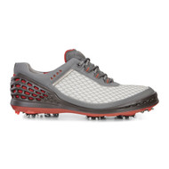 Ecco Mens Cage Golf Shoes Concrete Wild Dove