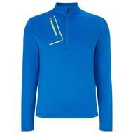 Callaway Golf Mens 1/4 Zip Fleece Lined Pullover Magnetic Blue Med