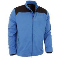 Callaway Golf Mens Softshell Jacket Palace Blue Med