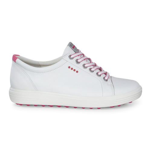 Ecco Womens Casual Hybrid Golf Shoes White