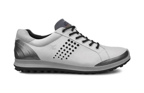 Ecco Mens Golf Biom Hybrid 2 White/Black Size