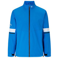 Callaway Men's Green Grass 3.0 Waterproof Jacket Magnetic Blue
