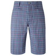 Callaway Golf 2017 Mens Micro Plaid Golf Shorts Moonlight Blue