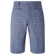 Callaway Golf 2017 Mens Micro Plaid Golf Shorts Moonlight Blue