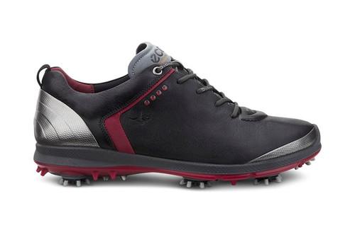 Mens Biom G2 Golf Shoes Goretex Black/Brick