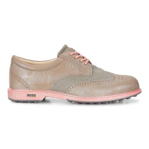 Ecco Womens Classic Hybrid Textile Golf Shoes Navajo Brown Grey