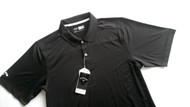 Callaway Mens Golf Performance Polo Caviar Med