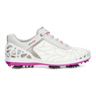Ecco Women's Cage Concrete Textile Golf Shoes