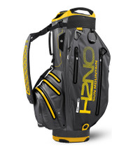 Sun Mountain Waterproof H2NO Elite Golf Bag Gunmetal/Yellow (18H2NOEC-GY)