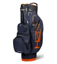 Sun Mountain Waterproof H2NO Lite Golf Bag Black/Navy/Orange (18H2NOCL-BNO)