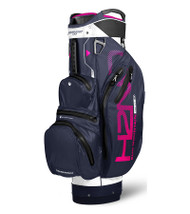 Sun Mountain Waterproof H2NO Lite Golf Bag White/Navy/Pink (18H2NOCL-WNP)