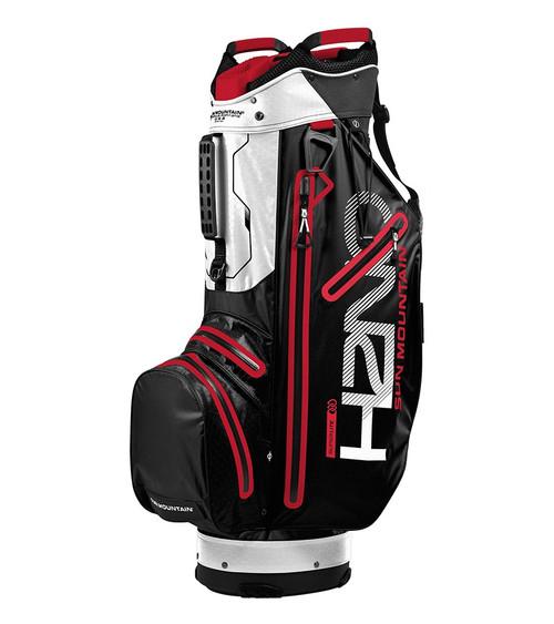 Sun Mountain H2NO Superlite Golf Bag Black/White/Red (18H2NOSC-BWR)