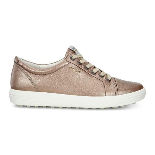 Ecco Womens Casual Hybrid Golf Shoes Warm Grey Metallic