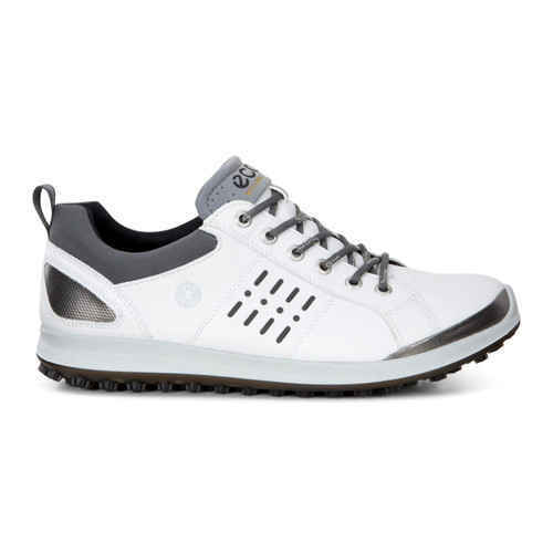 Ecco Mens Biom Hybrid 2 Goretex Golf Shoes White/Black