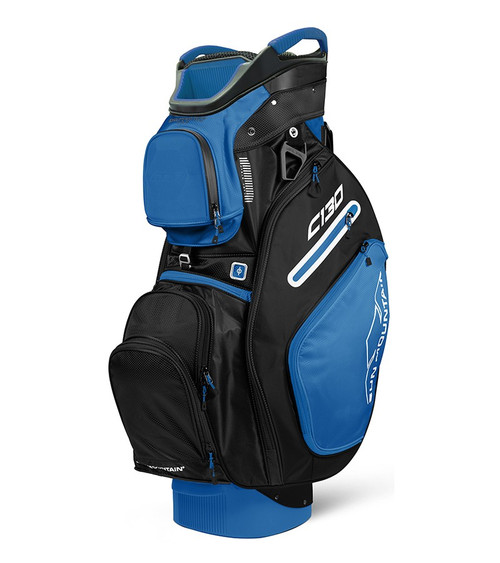 Sun Mountain C-130 Cart Golf Bag Blue/Black (18C130-CB)