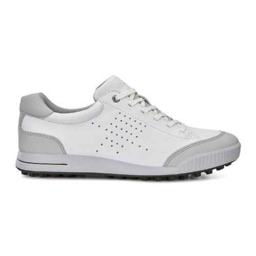 Ecco Mens Golf Street Retro White Concrete