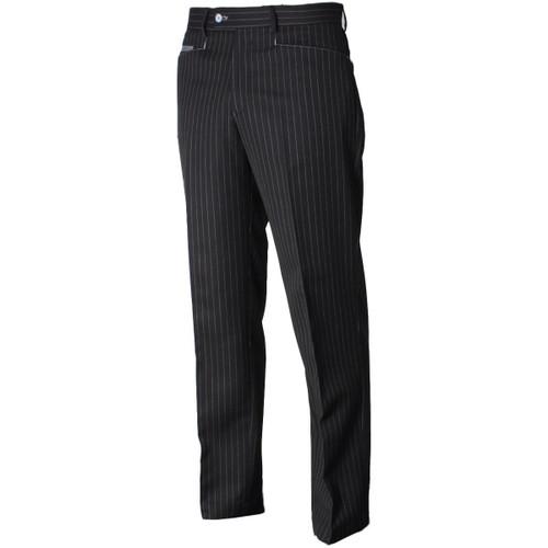 Stromberg St Tropez Golf Trousers Black White Stripe 40W x 29L