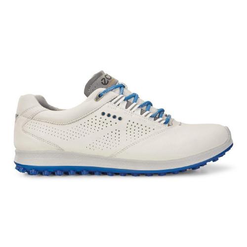 Ecco Mens Golf Biom Hybrid 2 White Bermuda Blue